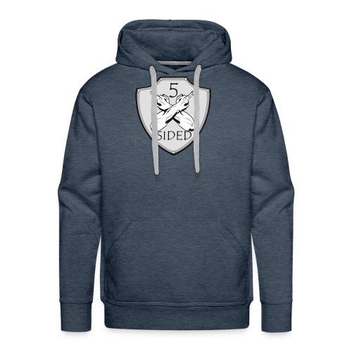 5 sided x 3 - Men's Premium Hoodie