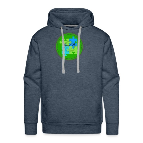 Coool T'z Green - Men's Premium Hoodie