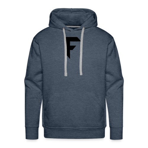 Frosted Technology Logo - Men's Premium Hoodie