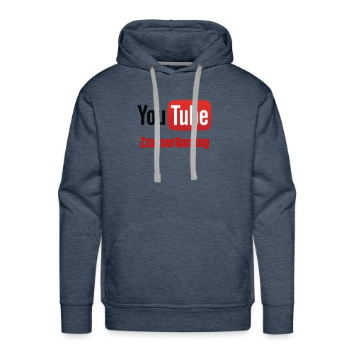YouTube ZzasserGaming - Men's Premium Hoodie