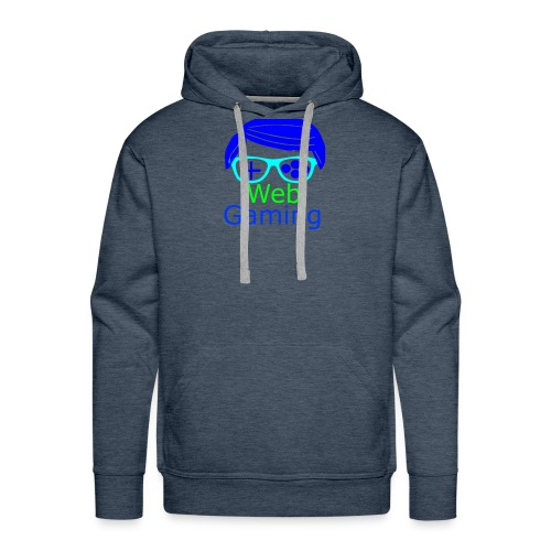 New Web Gaming Channel Logo - Men's Premium Hoodie