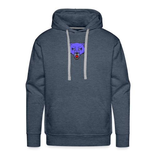 The Emblem Of A True WOLF - Men's Premium Hoodie