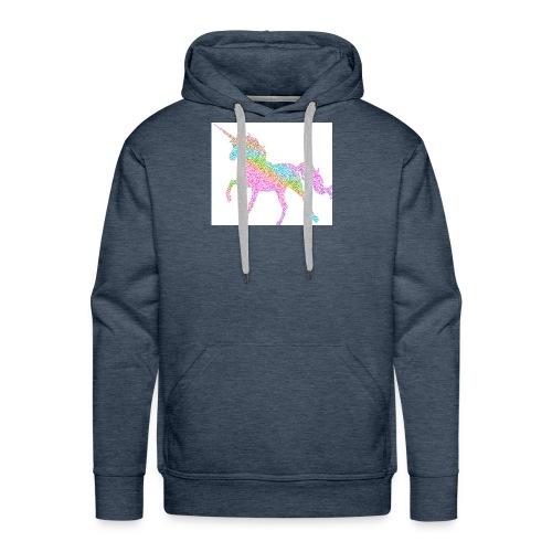 Cool Merch here by me it's unicorns - Men's Premium Hoodie