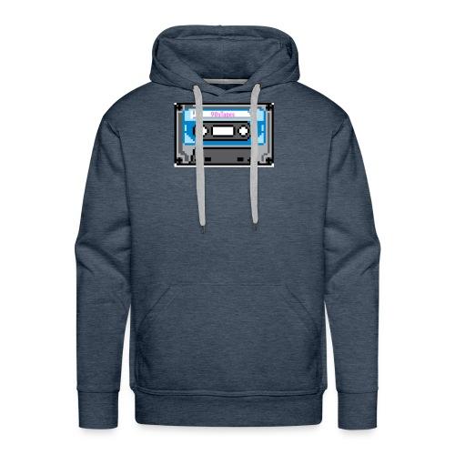 90s Tapes Brand Logo - Men's Premium Hoodie