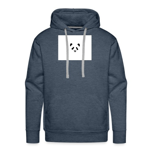 becouse i want some busines - Men's Premium Hoodie