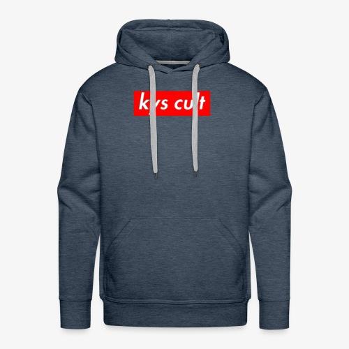 kys cult red - Men's Premium Hoodie