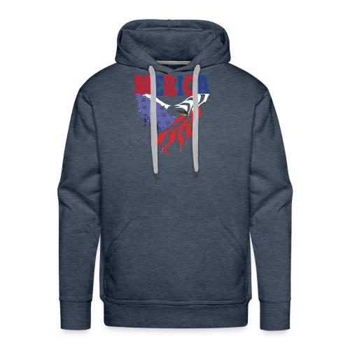 MERICA 4th of july t shirts old navy TSHIRT - Men's Premium Hoodie