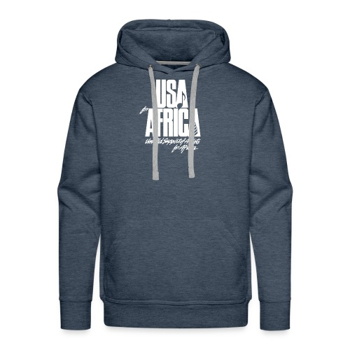 USA for africa merch - Men's Premium Hoodie