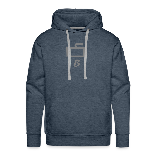 The B Logo - Men's Premium Hoodie