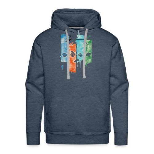 Elements of Life - Men's Premium Hoodie