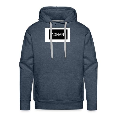 ADNAN in black box - Men's Premium Hoodie