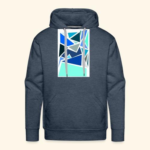 Funky Triangles - Men's Premium Hoodie