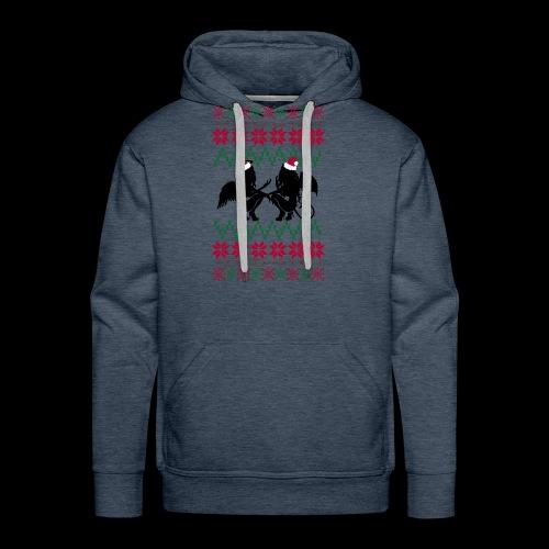Gastric Girls Gab Ugly X-Mas Sweater - Men's Premium Hoodie