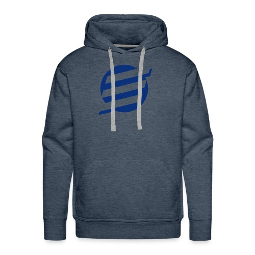 E Logo - Men's Premium Hoodie