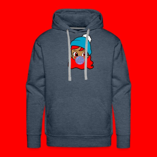 unbothered_girl - Men's Premium Hoodie