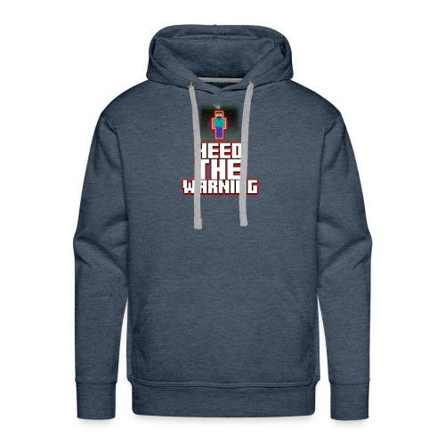 Heed The Warning #HerobrineMovie - Men's Premium Hoodie