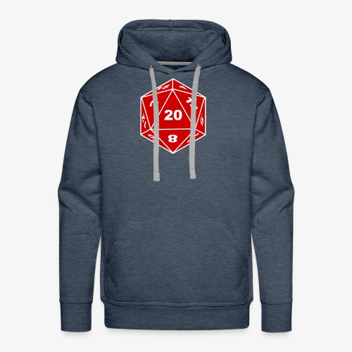 D20 - Men's Premium Hoodie
