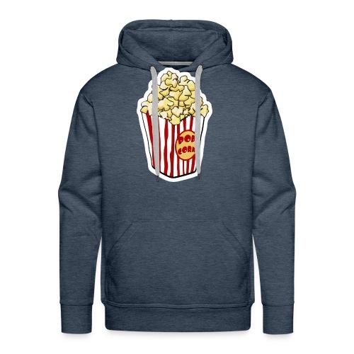 Popcorn Cartoon Pop Corn - Men's Premium Hoodie