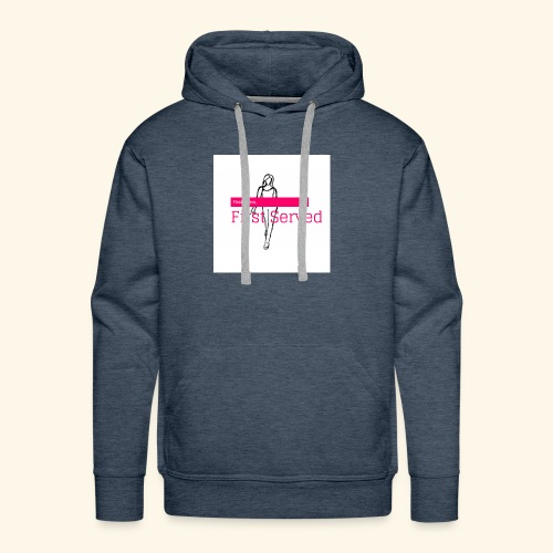First Come, First Served - Men's Premium Hoodie
