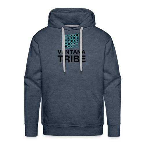 Ventana Tribe Black Logo - Men's Premium Hoodie
