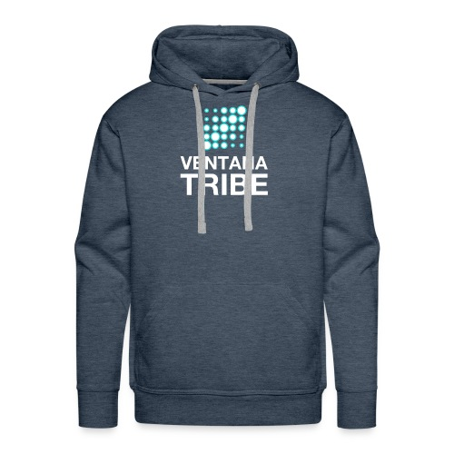 Ventana Tribe White Logo - Men's Premium Hoodie