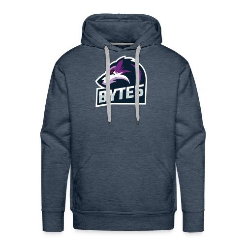 BYTE5 (Large Logo) - Men's Premium Hoodie