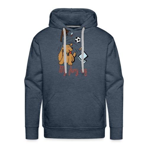 MY CUTE FURRY DOG PERFECT GIFT - Men's Premium Hoodie