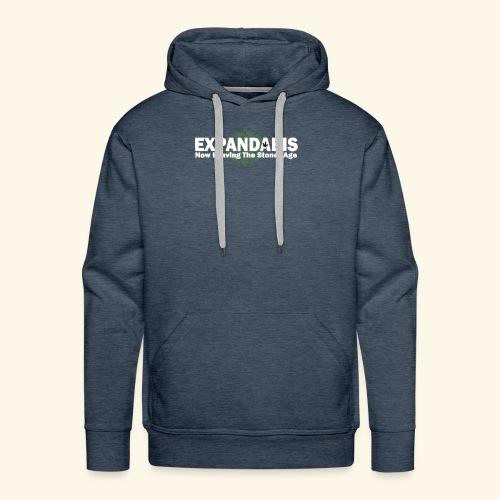 Expandabis White Logo - Men's Premium Hoodie
