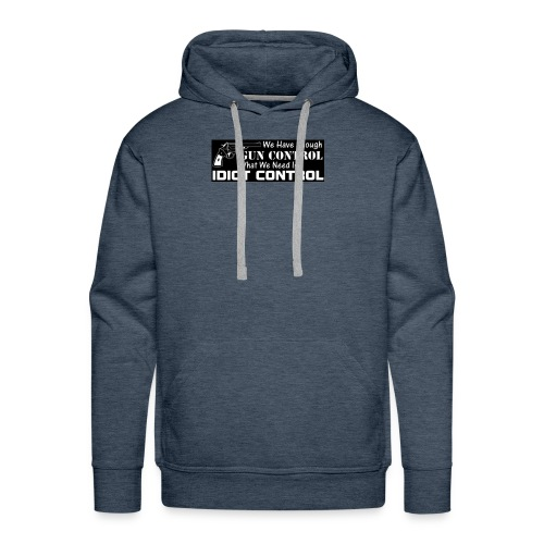 gun control - Men's Premium Hoodie
