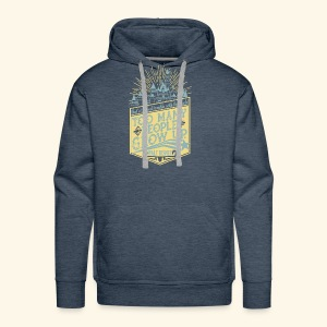 Too Many People Grow Up - Men's Premium Hoodie