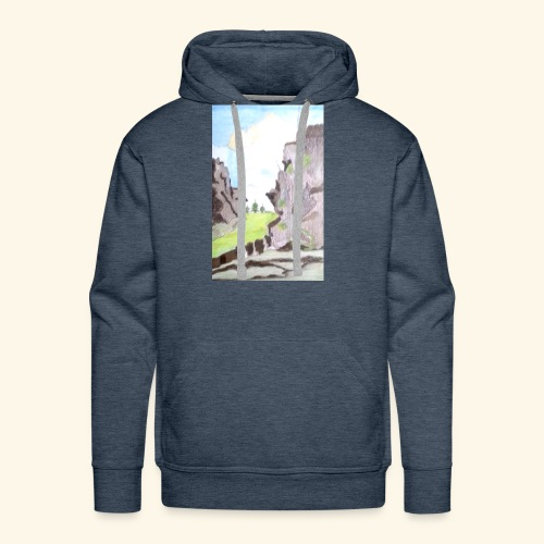 LANDSCAPE MULTI COLOUR - Men's Premium Hoodie