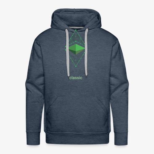 Ethereum Classic Logo - Men's Premium Hoodie