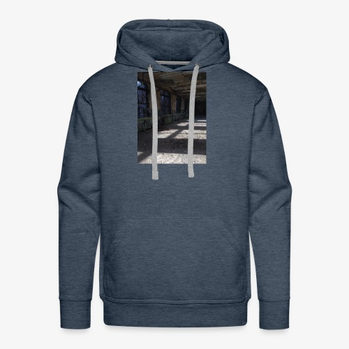 Abandon Prison Broken window room - Men's Premium Hoodie