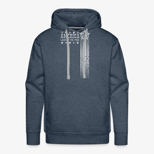 Land of the Free - Men's Premium Hoodie
