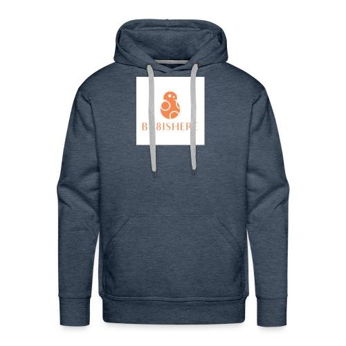 bb8ishere logo - Men's Premium Hoodie