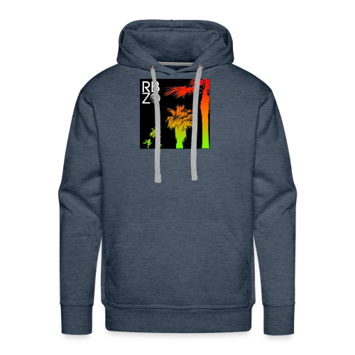 rbz south florida palm trees - Men's Premium Hoodie