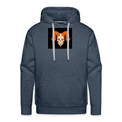 Horror Bull Logo - Men's Premium Hoodie