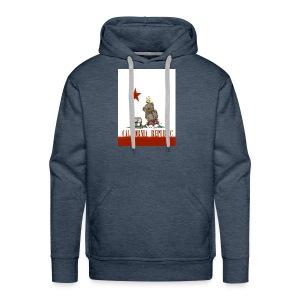 Lucky Number7 California Teddy NO Gunja Leaf - Men's Premium Hoodie