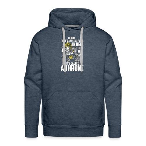 Dbz V Shirt - Men's Premium Hoodie