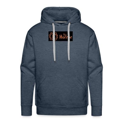 Horror pentagon logo - Men's Premium Hoodie
