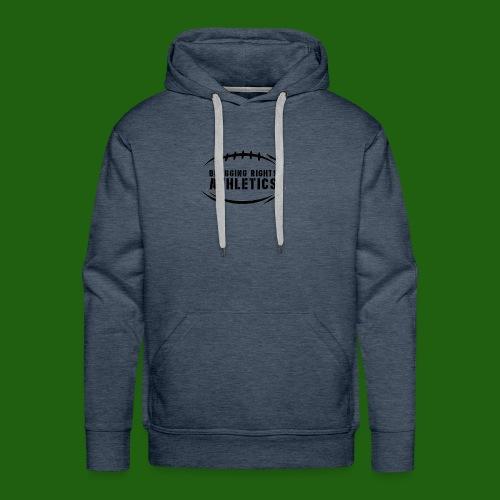 BRA Football Outline - Men's Premium Hoodie