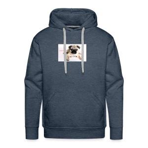 be a super pug savage merch - Men's Premium Hoodie