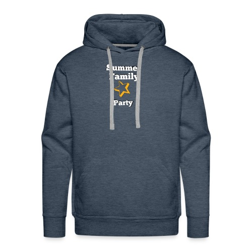 Summer party T-shirt - Men's Premium Hoodie