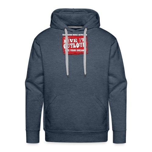 Live It OutLoud Logo - Men's Premium Hoodie