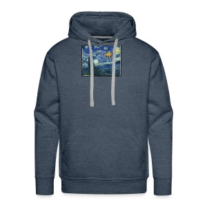 Starry Night Drone - Men's Premium Hoodie