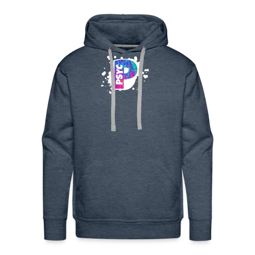 PSYC Channel Art Design - Men's Premium Hoodie