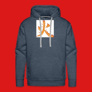 Fire till da end come and get it - Men's Premium Hoodie