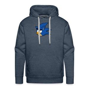 Sonic Angry Bird - Men's Premium Hoodie