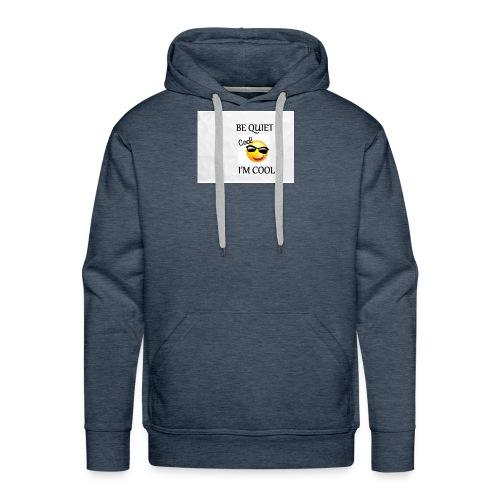 small be quiet - Men's Premium Hoodie