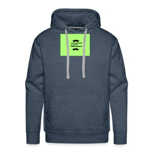 I Am Wearing A Caleb Merchandise - Men's Premium Hoodie